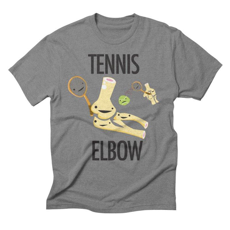 Tennis Elbow Men's Triblend T-Shirt by I Heart Guts