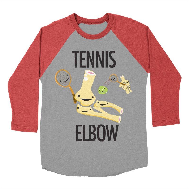Tennis Elbow Women's Baseball Triblend Longsleeve T-Shirt by I Heart Guts