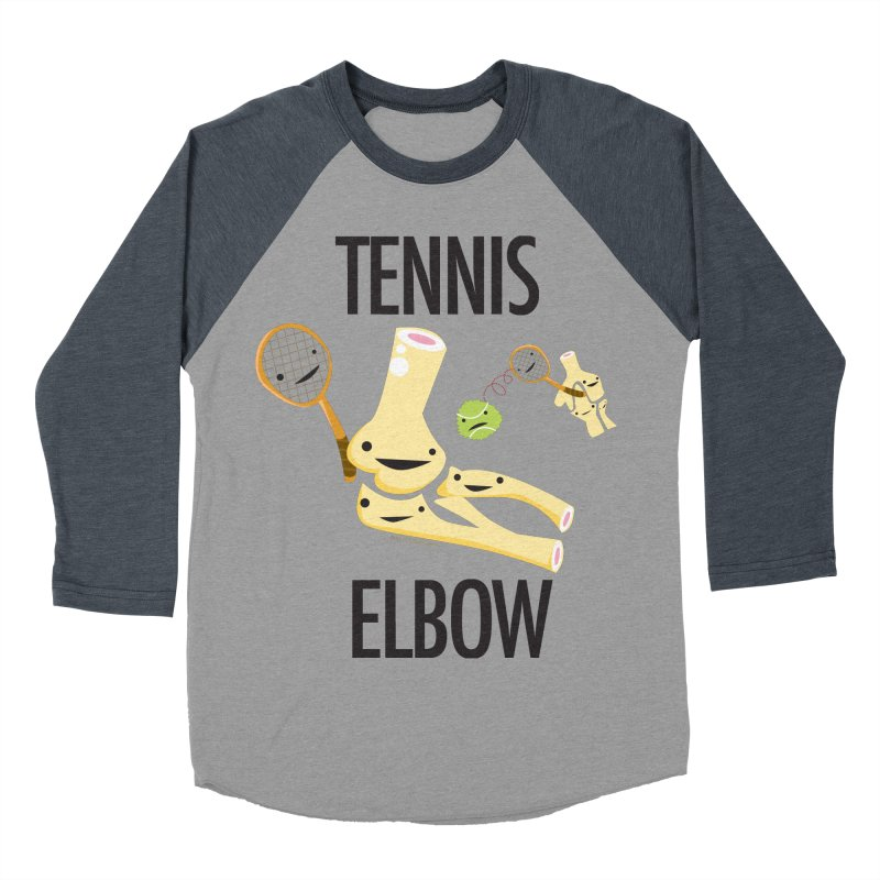 Tennis Elbow Women's Baseball Triblend Longsleeve T-Shirt by I Heart Guts