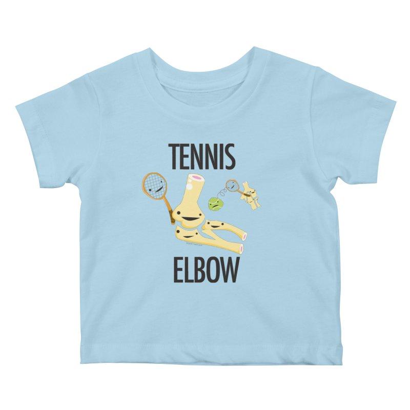 Tennis Elbow Kids Baby T-Shirt by I Heart Guts