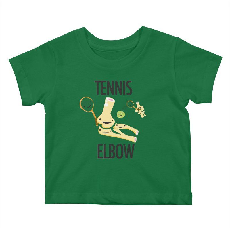 Tennis Elbow Kids Baby T-Shirt by I Heart Guts