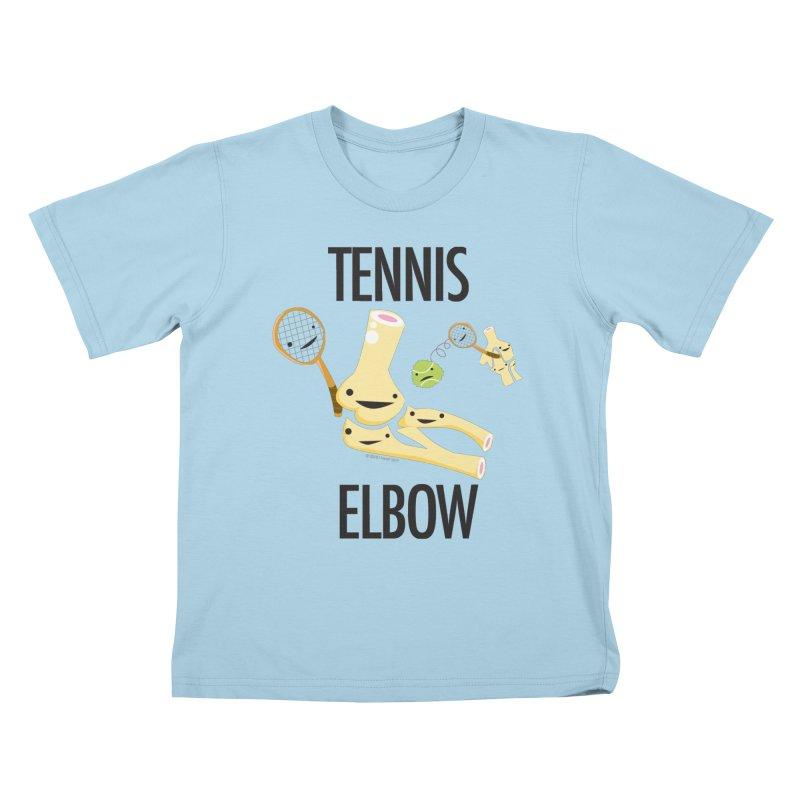 Tennis Elbow Kids T-Shirt by I Heart Guts