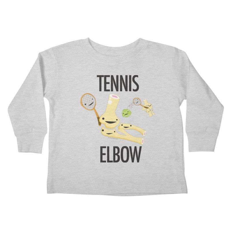 Tennis Elbow Kids Toddler Longsleeve T-Shirt by I Heart Guts