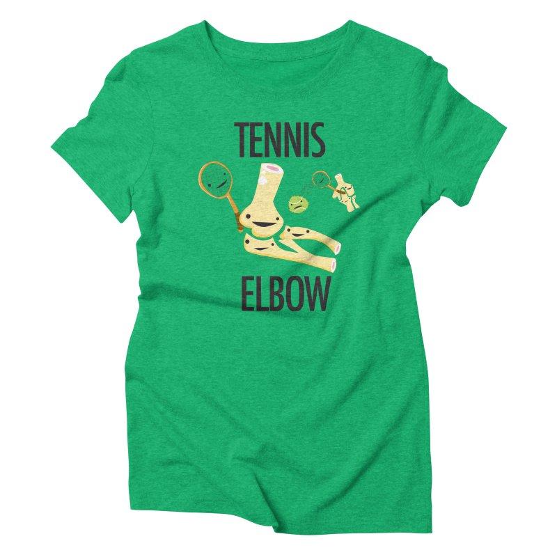 Tennis Elbow Women's Triblend T-Shirt by I Heart Guts