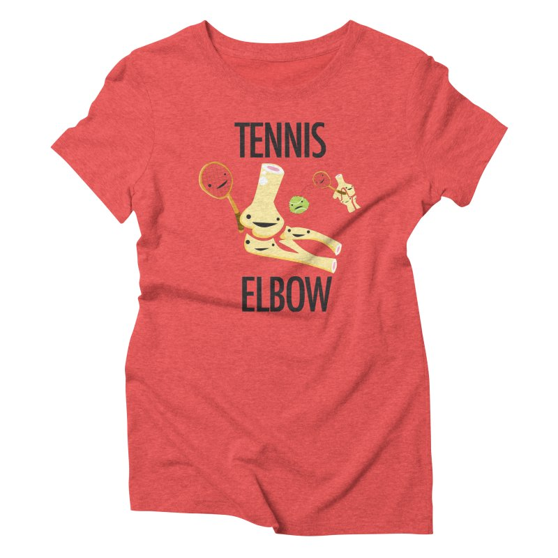 Tennis Elbow Women's Triblend T-Shirt by I Heart Guts