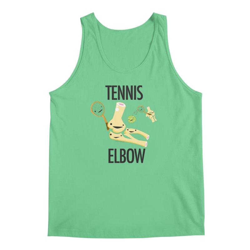Tennis Elbow Men's Regular Tank by I Heart Guts