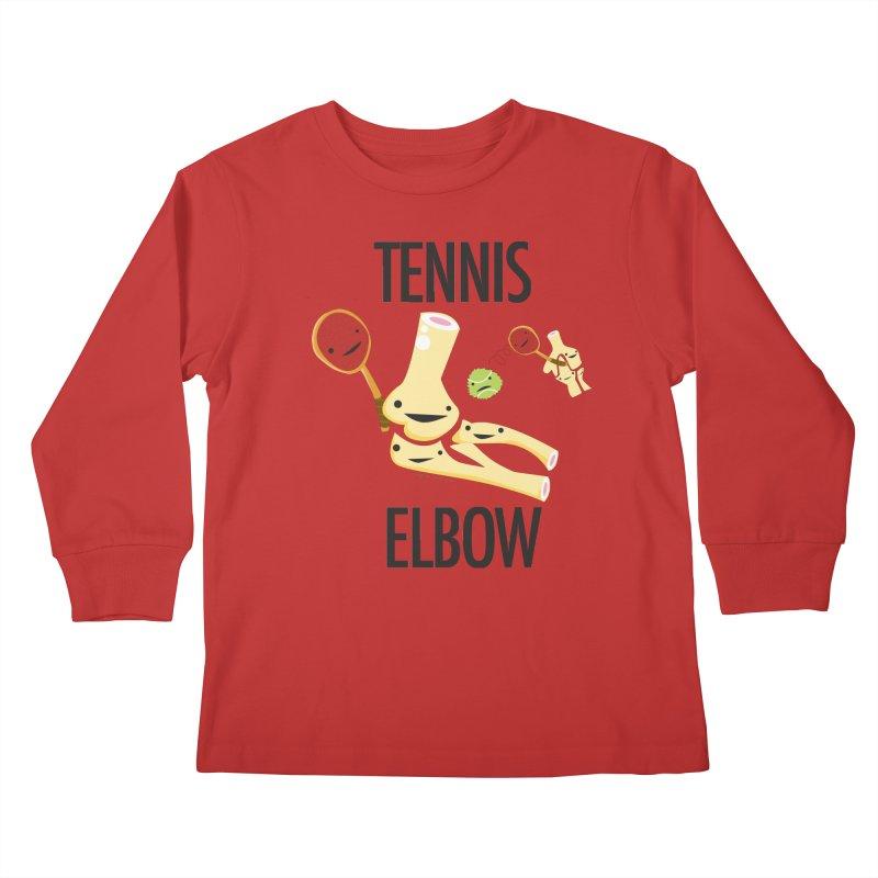 Tennis Elbow Kids Longsleeve T-Shirt by I Heart Guts