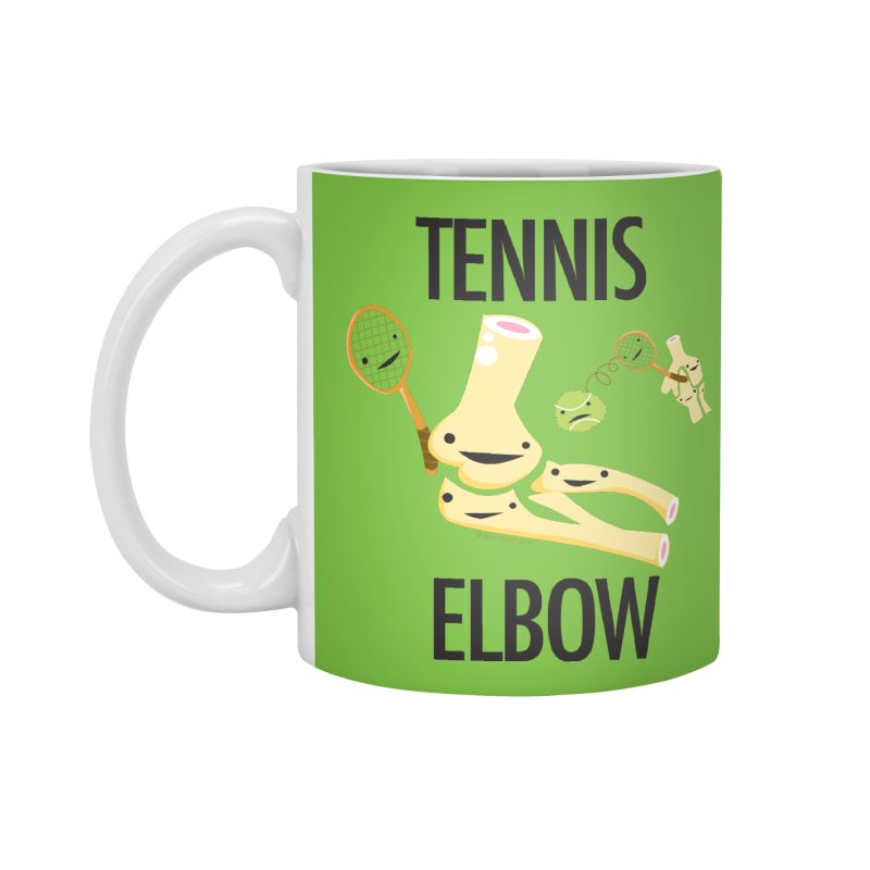 Tennis Elbow Accessories Mug by I Heart Guts