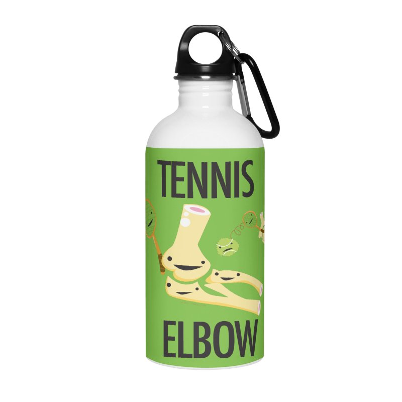 Tennis Elbow Accessories Water Bottle by I Heart Guts