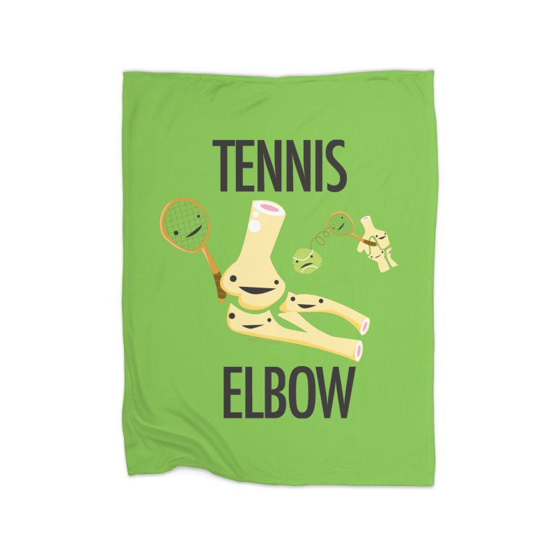 Tennis Elbow Home Blanket by I Heart Guts