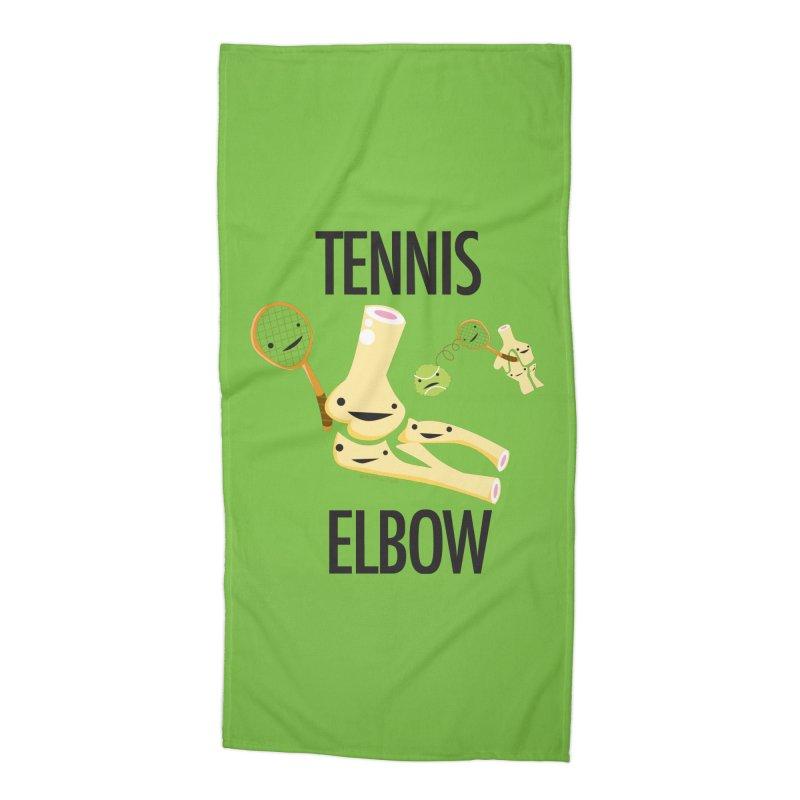Tennis Elbow Accessories Beach Towel by I Heart Guts