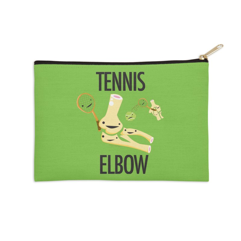 Tennis Elbow Accessories Zip Pouch by I Heart Guts