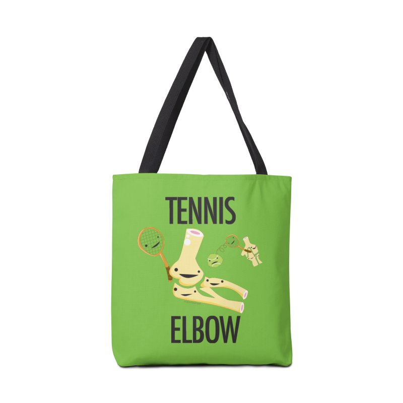 Tennis Elbow in Tote Bag by I Heart Guts