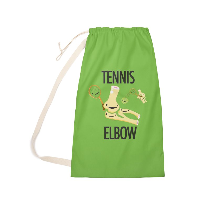 Tennis Elbow Accessories Laundry Bag Bag by I Heart Guts