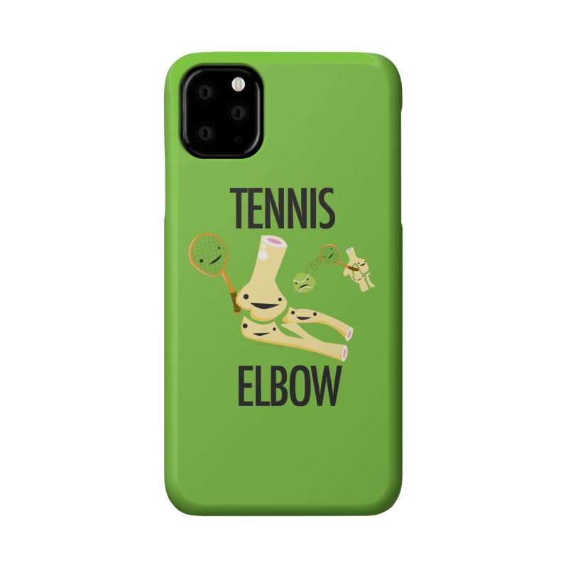 Tennis Elbow Accessories Phone Case by I Heart Guts