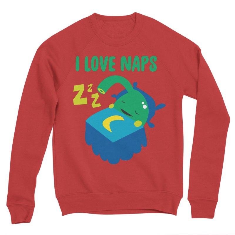 Pineal Gland - I Love Naps Men's Sponge Fleece Sweatshirt by I Heart Guts
