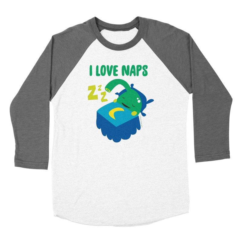 Pineal Gland - I Love Naps Men's Baseball Triblend Longsleeve T-Shirt by I Heart Guts