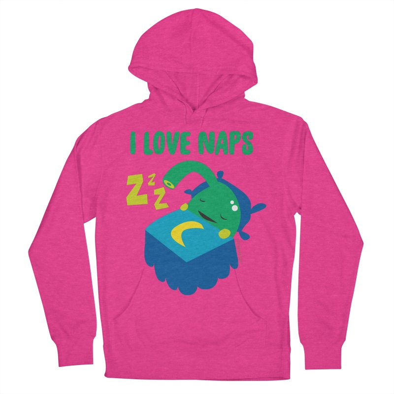 Pineal Gland - I Love Naps Women's French Terry Pullover Hoody by I Heart Guts