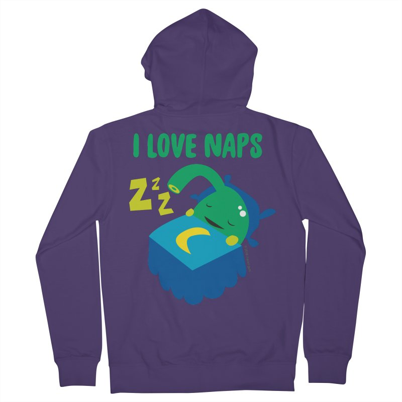 Pineal Gland - I Love Naps Women's French Terry Zip-Up Hoody by I Heart Guts
