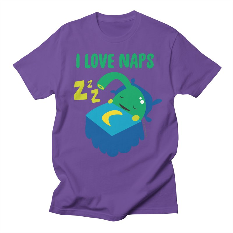 Pineal Gland - I Love Naps Men's Regular T-Shirt by I Heart Guts