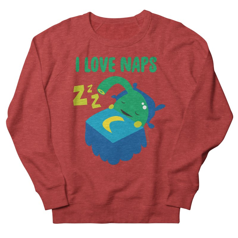 Pineal Gland - I Love Naps Men's French Terry Sweatshirt by I Heart Guts
