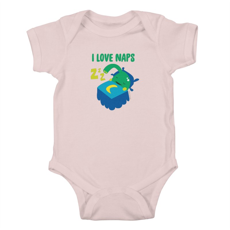 Pineal Gland - I Love Naps Kids Baby Bodysuit by I Heart Guts