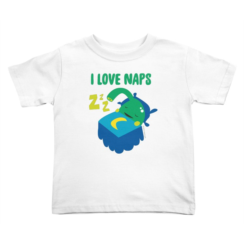Pineal Gland - I Love Naps Kids Toddler T-Shirt by I Heart Guts