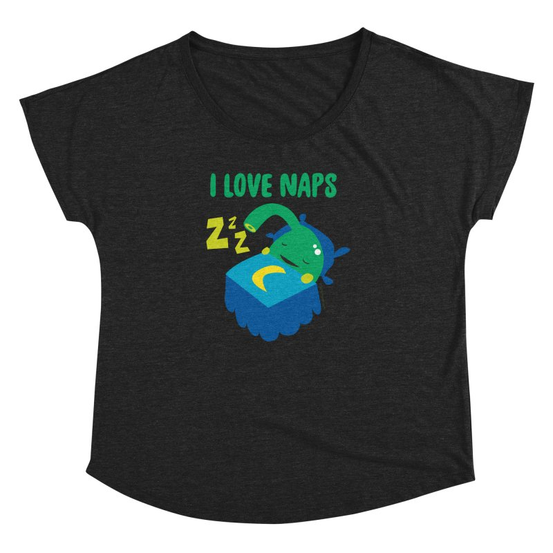 Pineal Gland - I Love Naps Women's Dolman Scoop Neck by I Heart Guts