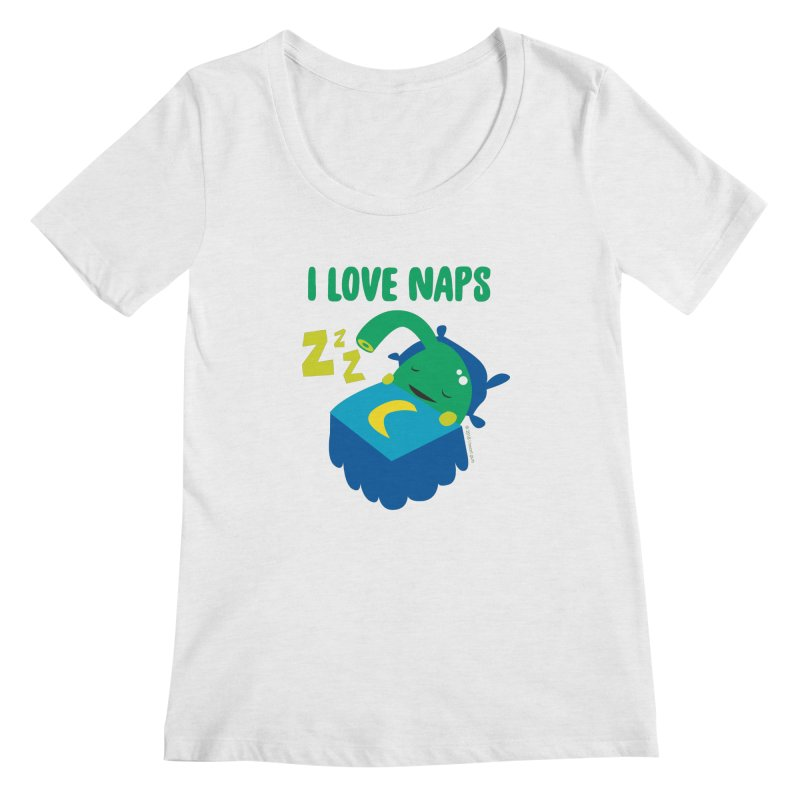 Pineal Gland - I Love Naps Women's Regular Scoop Neck by I Heart Guts