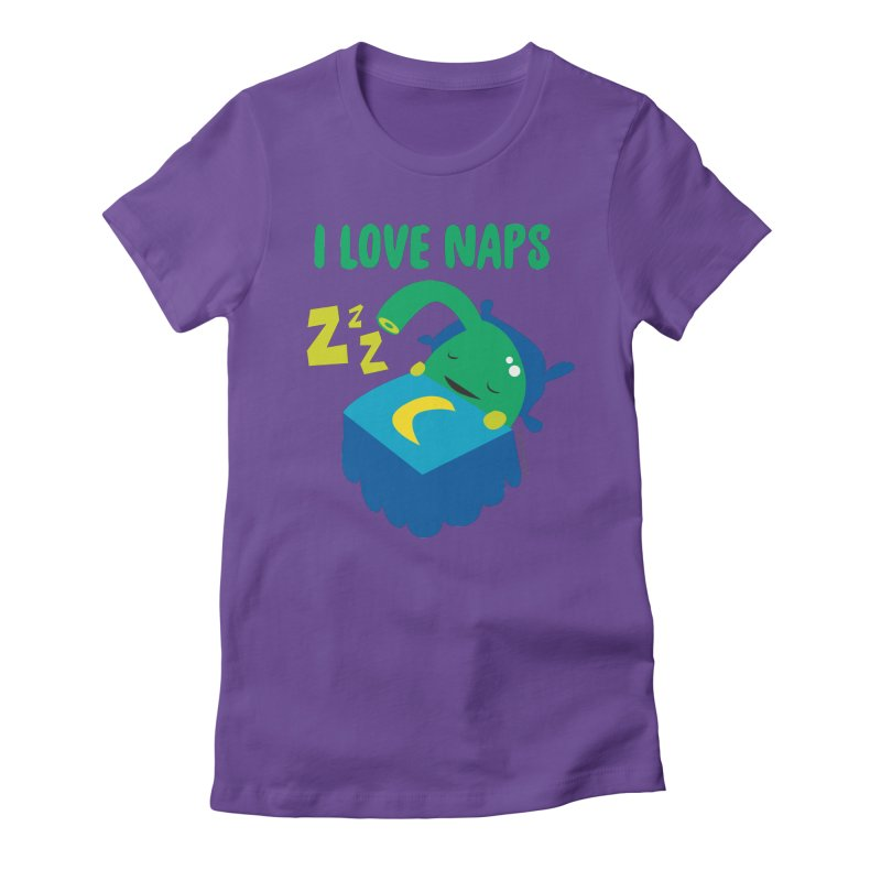 Pineal Gland - I Love Naps Women's Fitted T-Shirt by I Heart Guts