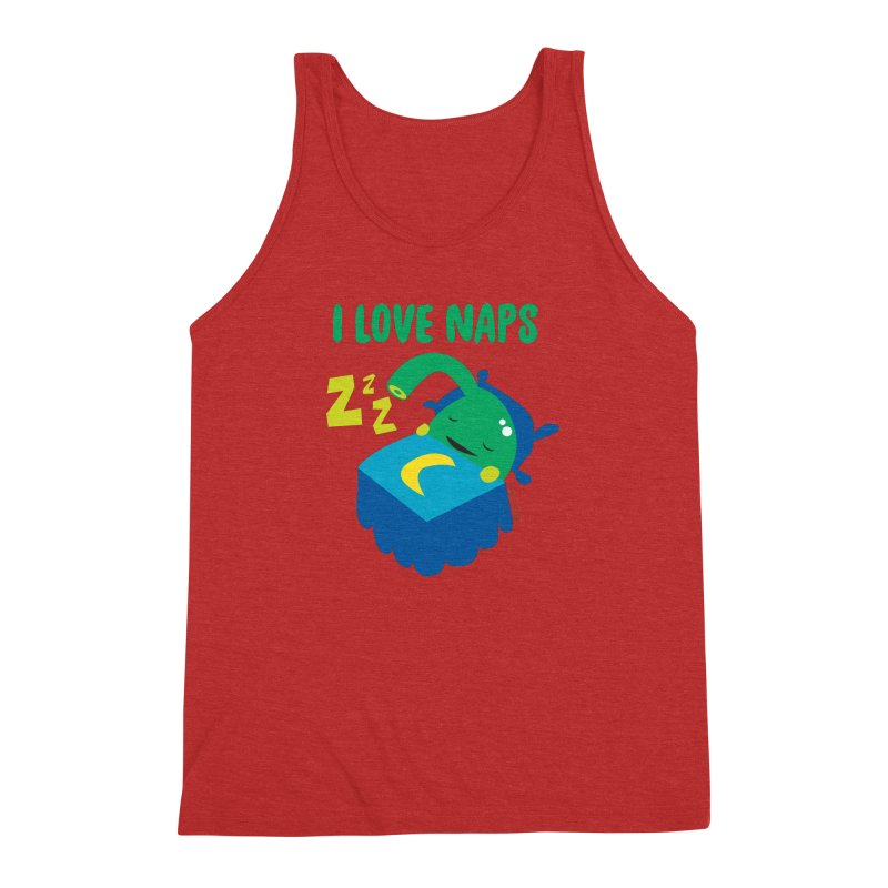 Pineal Gland - I Love Naps Men's Triblend Tank by I Heart Guts