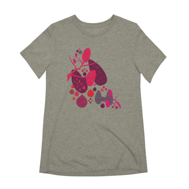 Parathyroid + Thyroid in Women's Extra Soft T-Shirt Heather Stone by I Heart Guts