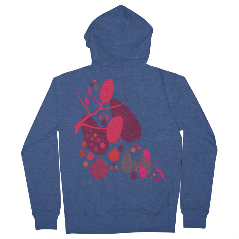 Parathyroid + Thyroid Men's French Terry Zip-Up Hoody by I Heart Guts