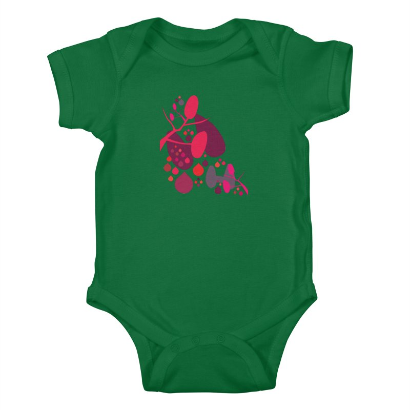 Parathyroid + Thyroid Kids Baby Bodysuit by I Heart Guts