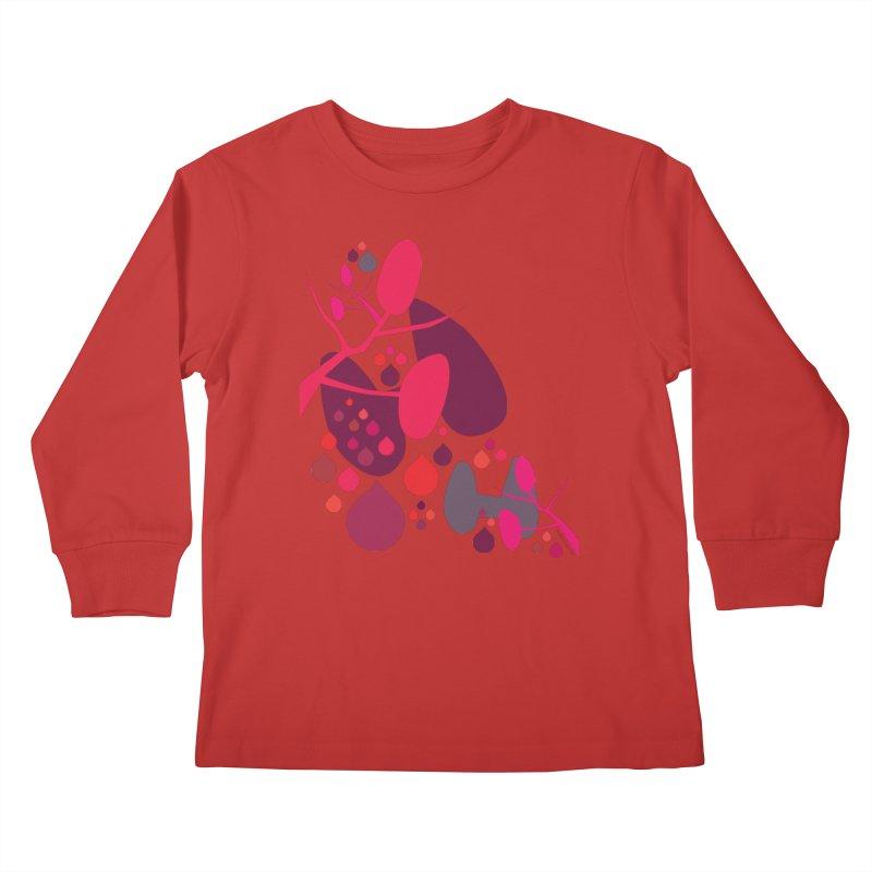 Parathyroid + Thyroid Kids Longsleeve T-Shirt by I Heart Guts