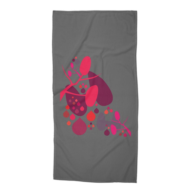 Parathyroid + Thyroid Accessories Beach Towel by I Heart Guts