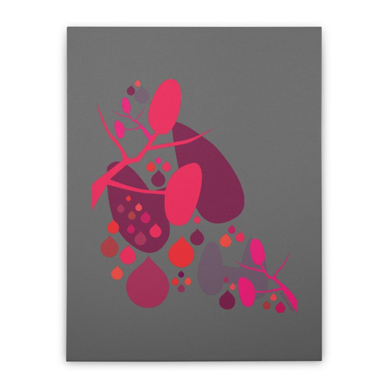 Parathyroid + Thyroid Home Stretched Canvas by I Heart Guts