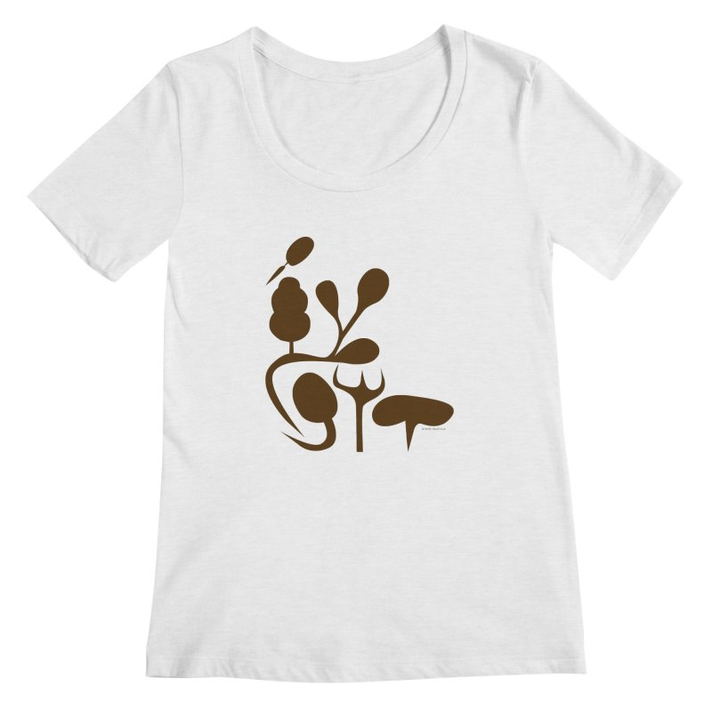 Sense of Touch Women's Scoop Neck by I Heart Guts