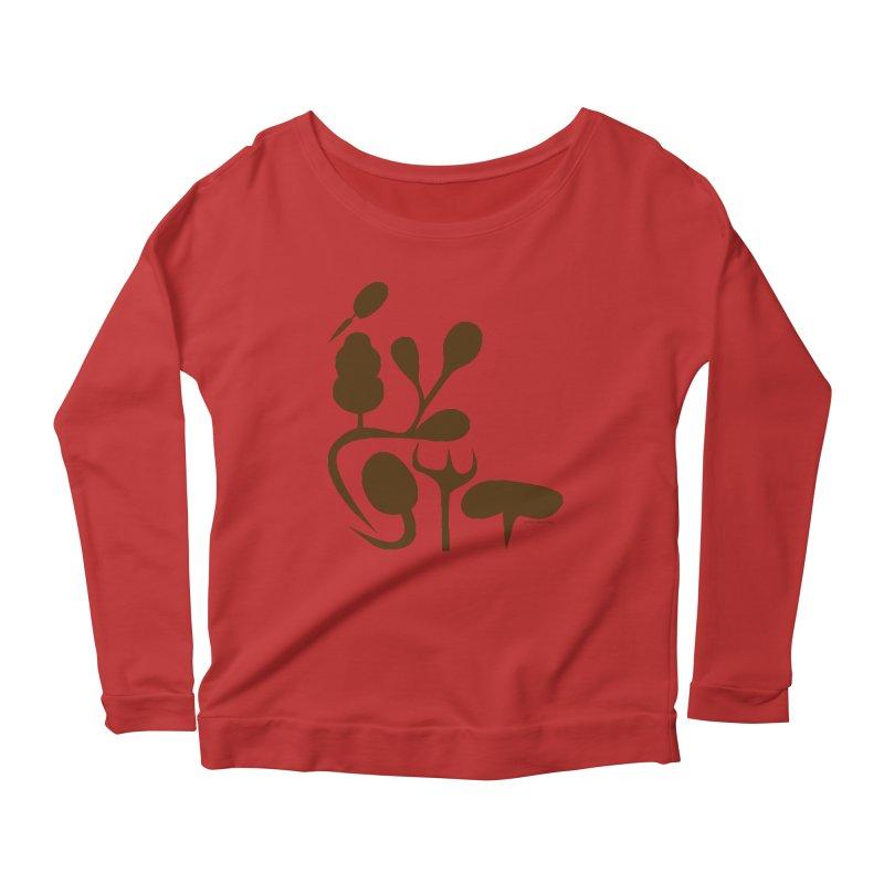Sense of Touch Women's Scoop Neck Longsleeve T-Shirt by I Heart Guts