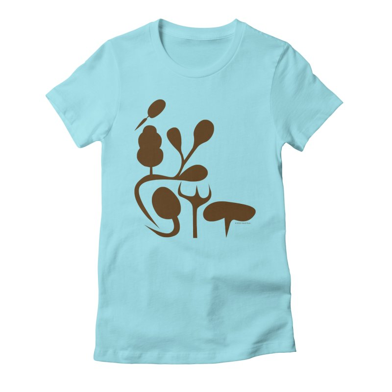 Sense of Touch Women's Fitted T-Shirt by I Heart Guts