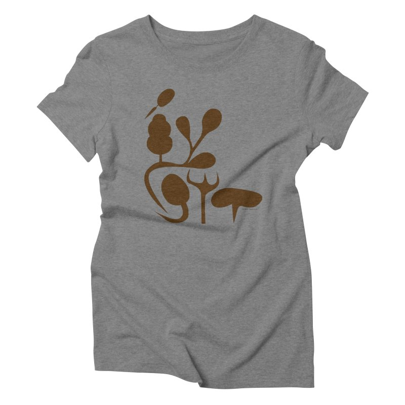 Sense of Touch Women's Triblend T-Shirt by I Heart Guts