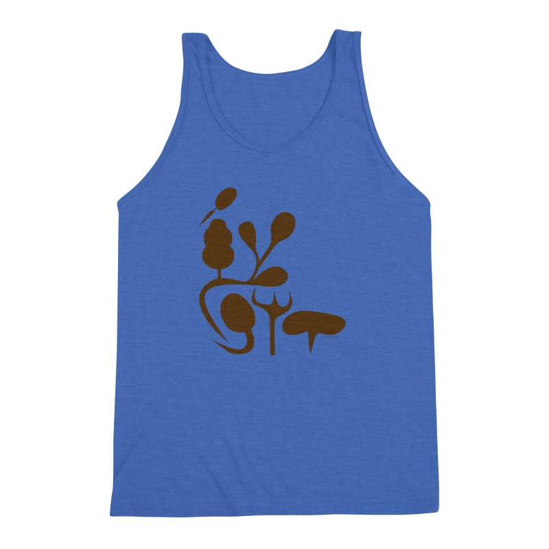 Sense of Touch Men's Triblend Tank by I Heart Guts