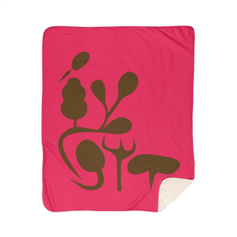 Sense of Touch Home Sherpa Blanket Blanket by I Heart Guts