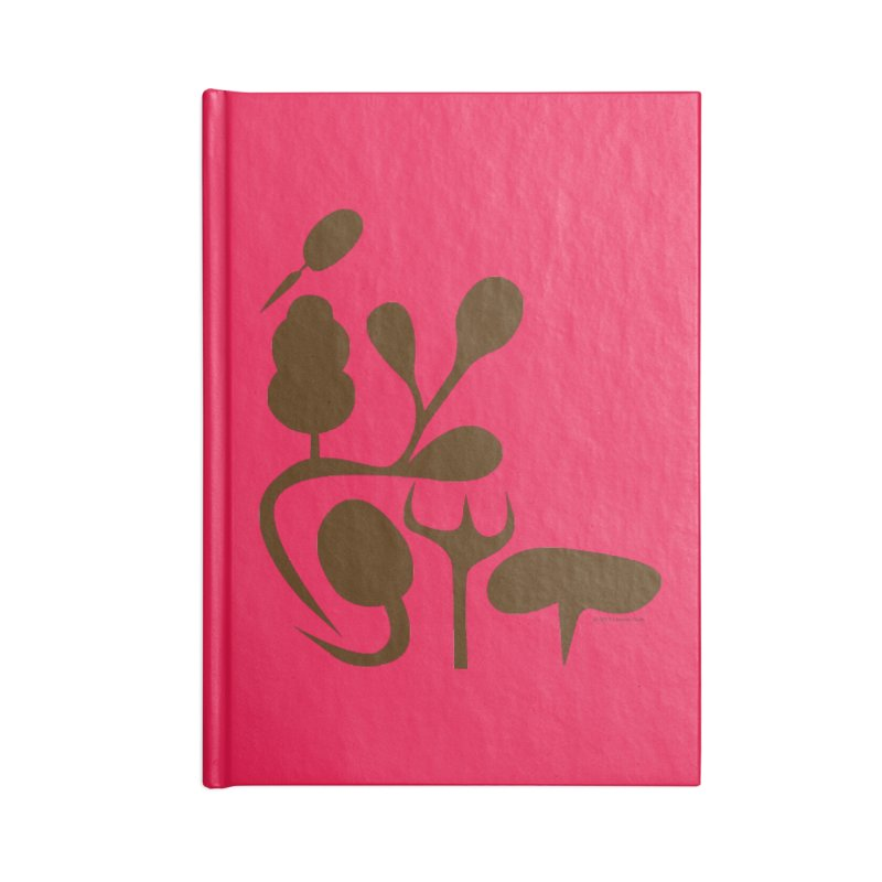 Sense of Touch Accessories Lined Journal Notebook by I Heart Guts