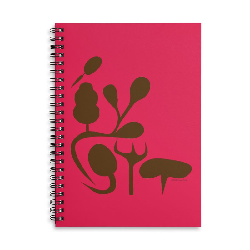 Sense of Touch Accessories Lined Spiral Notebook by I Heart Guts