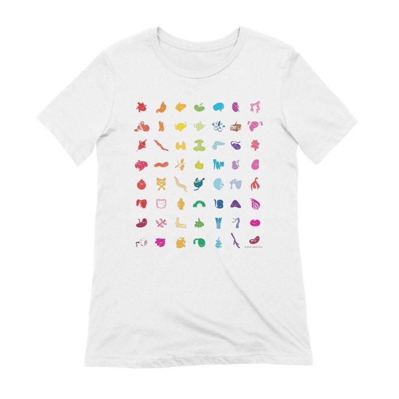 Guts Grid Women's Extra Soft T-Shirt by I Heart Guts