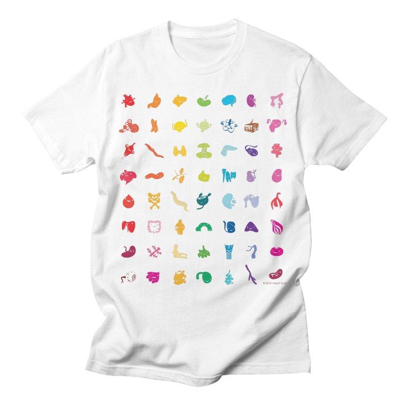 Guts Grid Men's T-Shirt by I Heart Guts