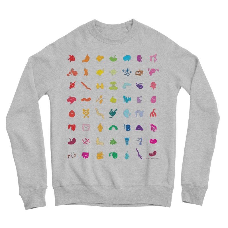 Guts Grid Women's Sponge Fleece Sweatshirt by I Heart Guts
