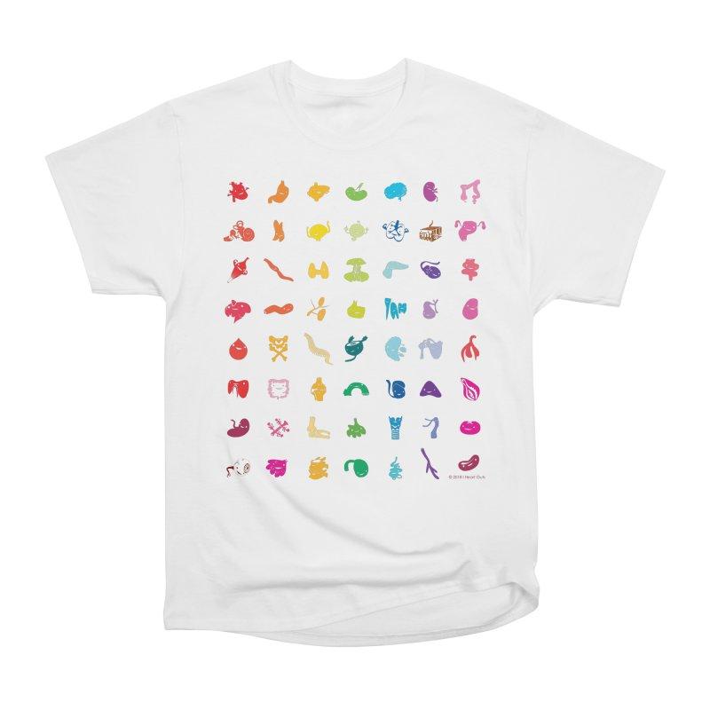 Guts Grid Men's Heavyweight T-Shirt by I Heart Guts