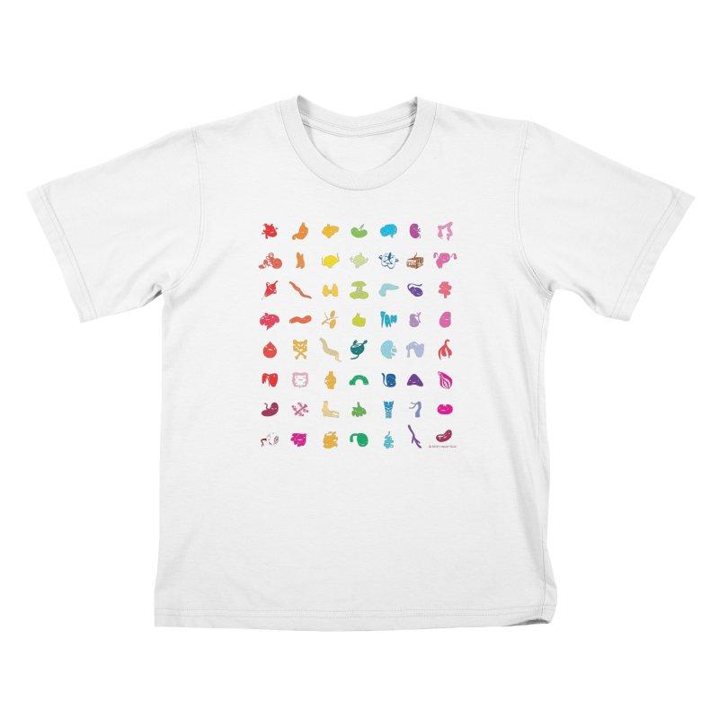 Guts Grid Kids Toddler T-Shirt by I Heart Guts
